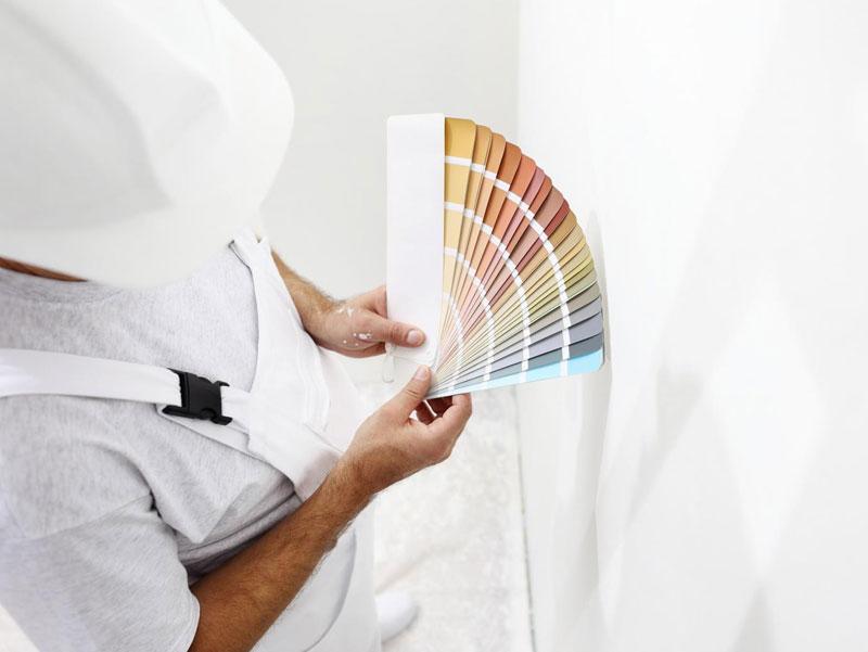 Skal du selv farvesætte den nye bolig?